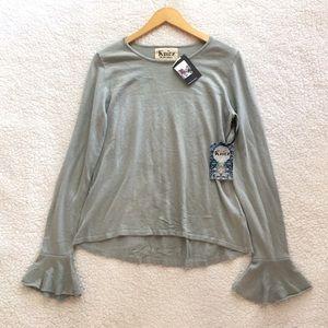 NWT Knitz by For Love & Lemons nightcap sweater